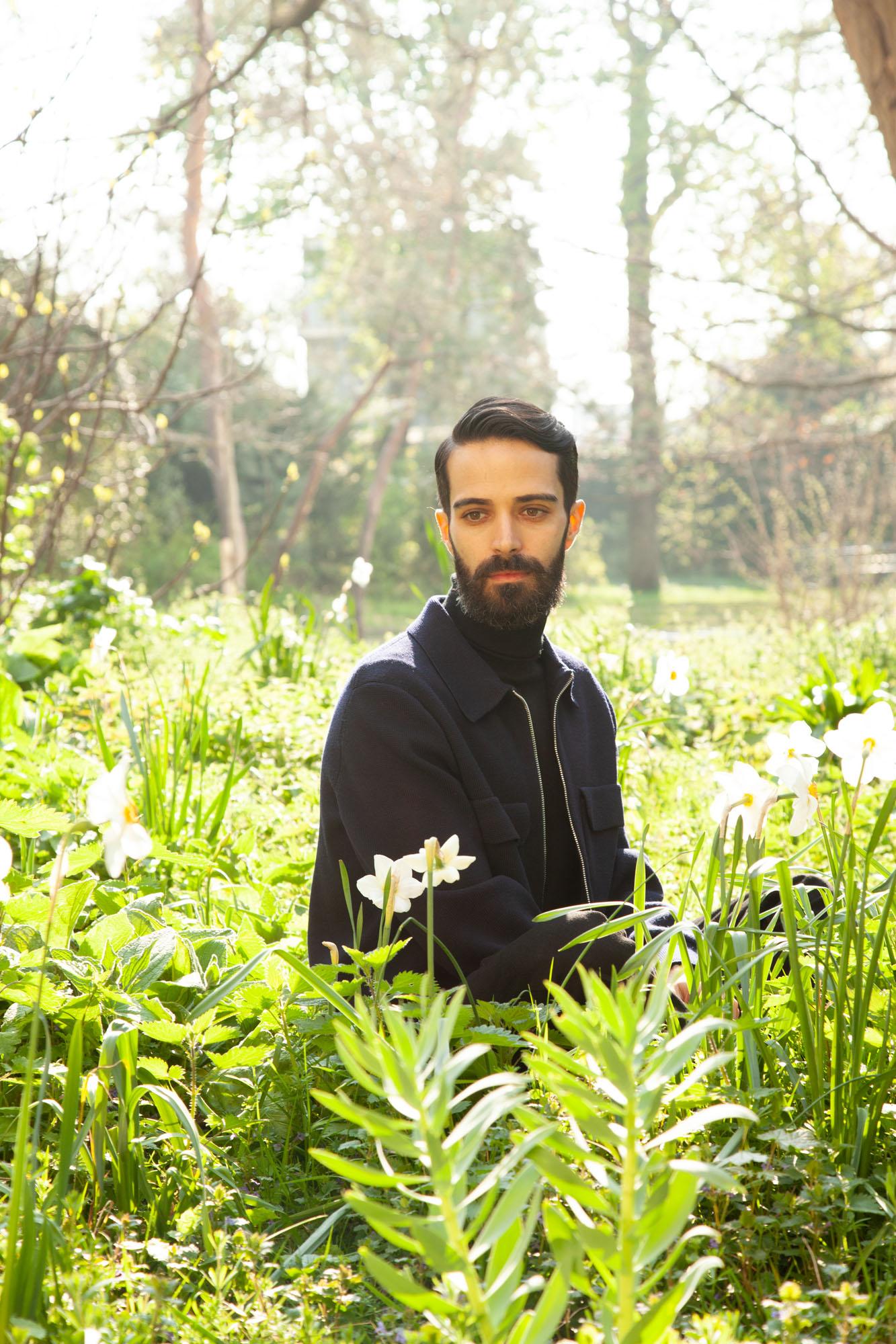 Andrea Trimarchi, du duo de designers italiens Formafantasma.