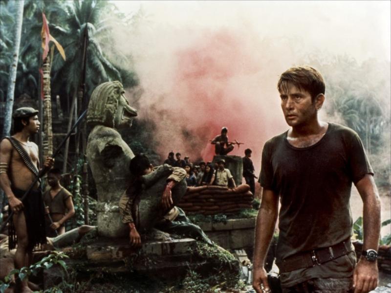 """Martin Sheen dans """"Apocalypse Now"""" (1979)."""