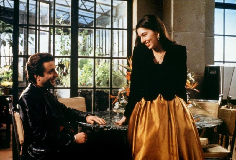 """Sofia Coppola dans """"Le Parrain 3"""" (1990)."""