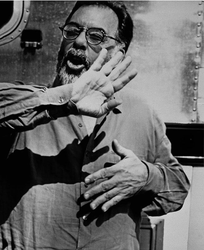 Francis Ford Coppola en Californie en 1992 par Michel Haddi.