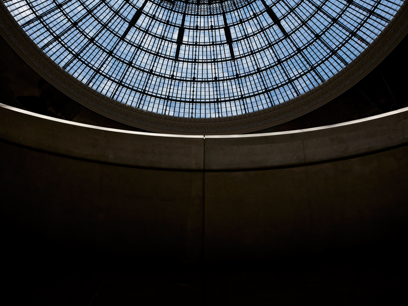 Photo : Maxime Tétard. Courtesy Bourse de Commerce – Pinault Collection © Tadao Ando Architect & Associates, NeM / Niney & Marca Architectes, Agence Pierre-Antoine Gatier, Setec Bâtiment