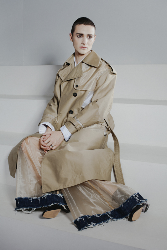 Fuhong Yang. Collection Femme, Chine. Photographie de Louise Desnos, 2017
