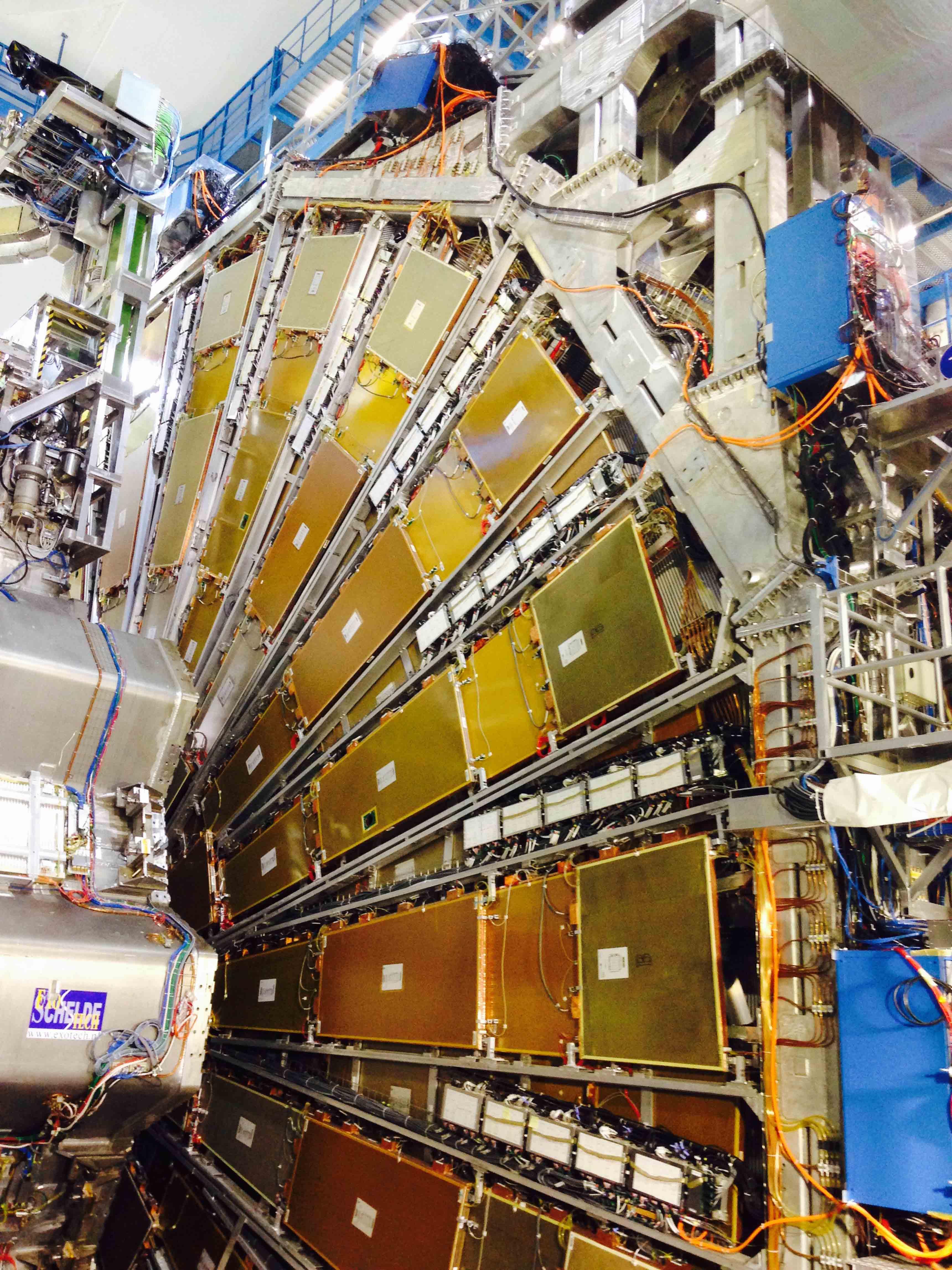 ATLAS, à 93 mètres de profondeur, CERN.