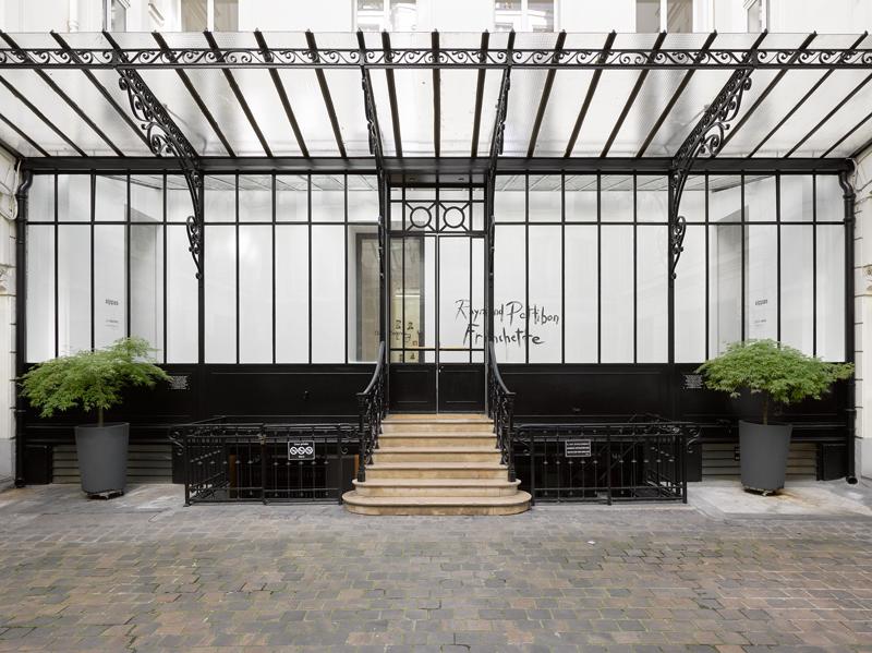 Vue du nouvel espace de la galerie David Zwirner au 108, rue Vieille du Temple, Paris 3e.
