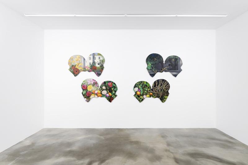Robert Brambora, 2020, vue d'exposition à la galerie Sans titre (2016).
