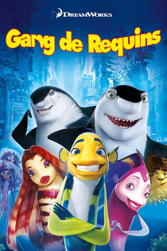 """""""Gang de Requins"""" (2004) de Rob Letterman, Eric Bergeron et Vicky Jenson"""