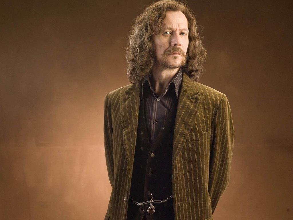 """Gary Oldman en Sirius Black dans """"Harry Potter et l'Ordre du Phenix"""" de David Yates"""