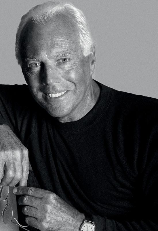 Giorgio Armani, 2001 – Courtesy of Giorgio Armani.