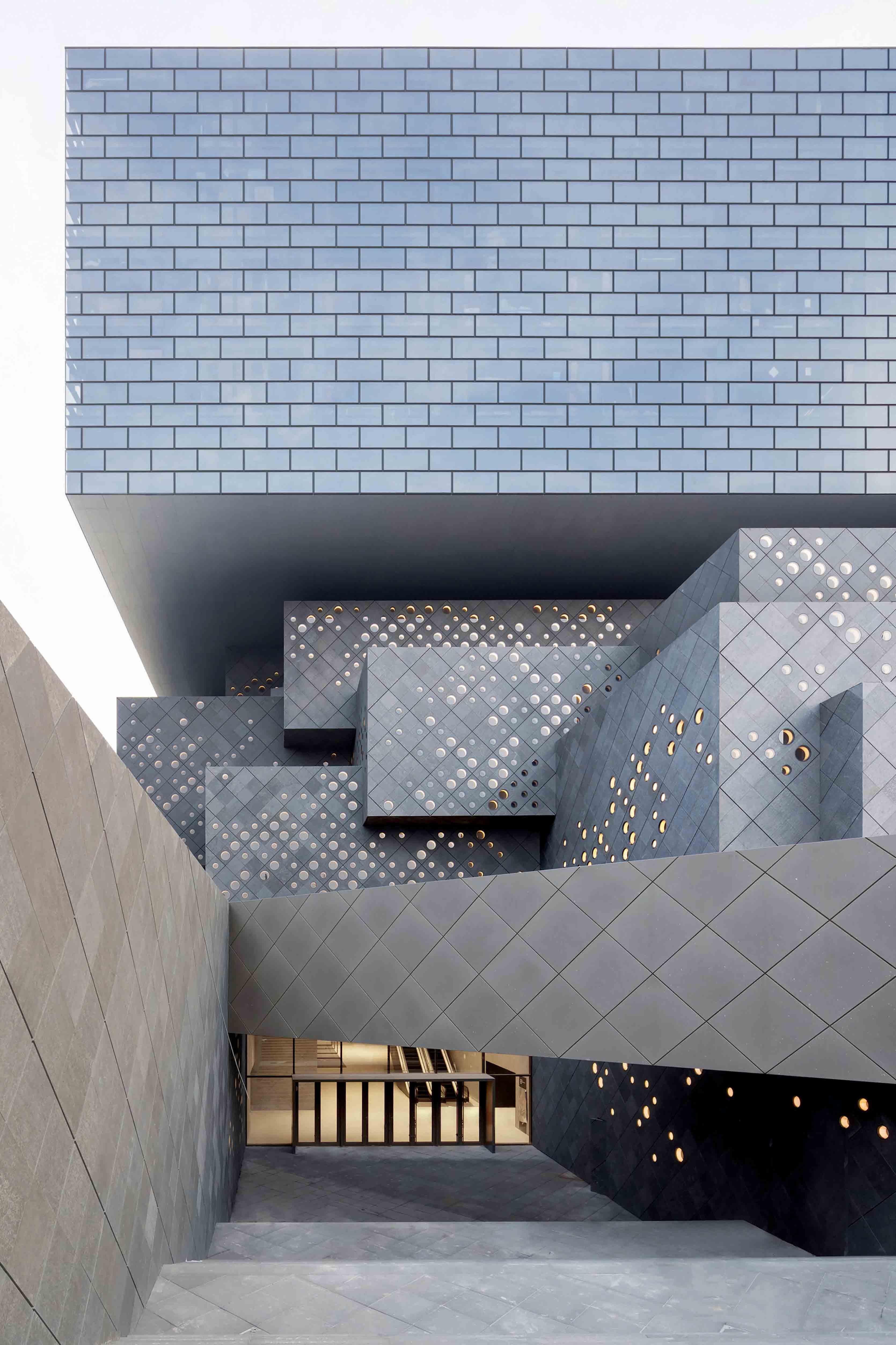 Le Guardian Art Center à Pékin, inauguré en janvier.