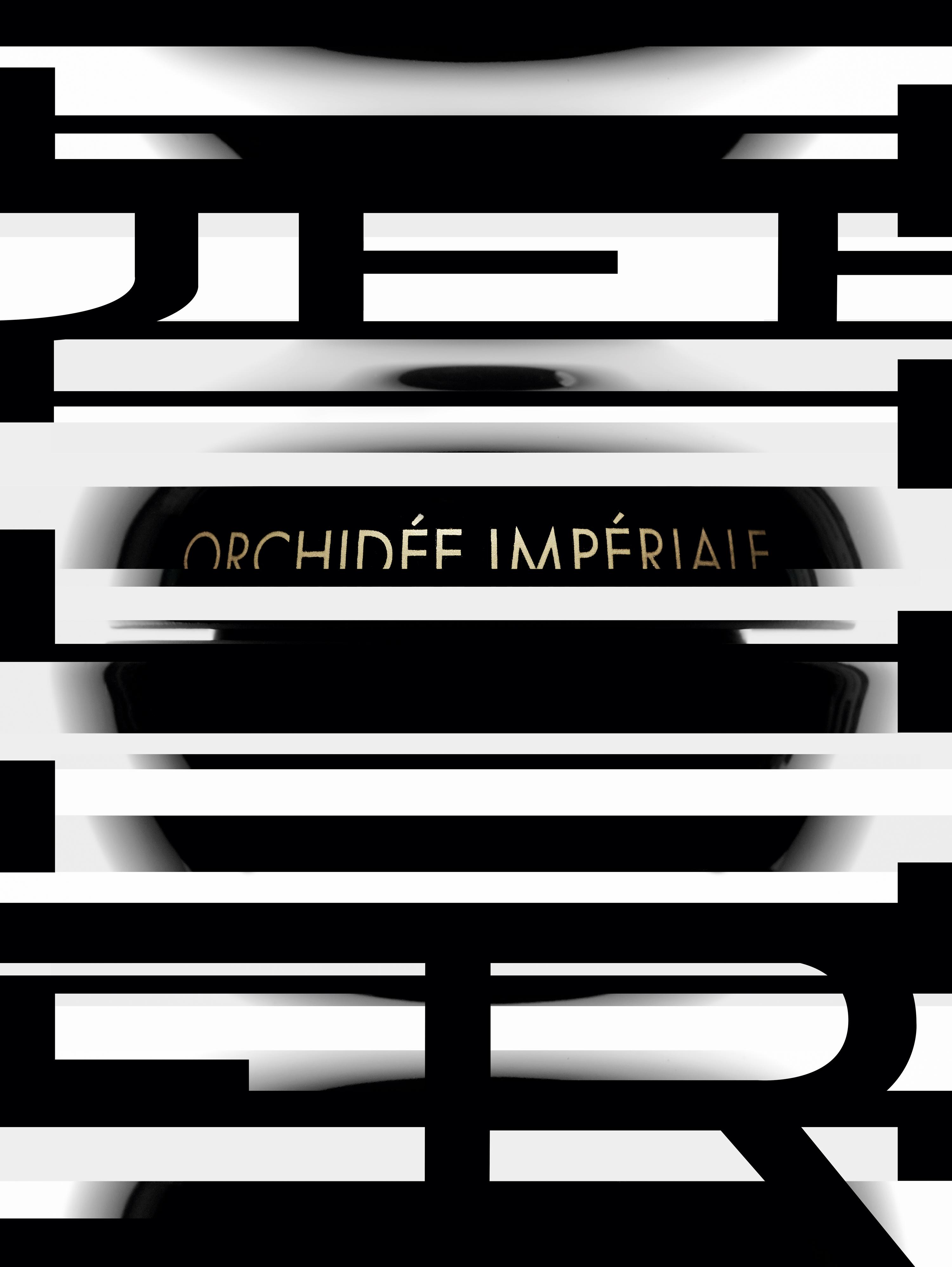 """""""Orchidée Impériale Black, La Crème Contour Yeux et Lèvres"""", GUERLAIN."""