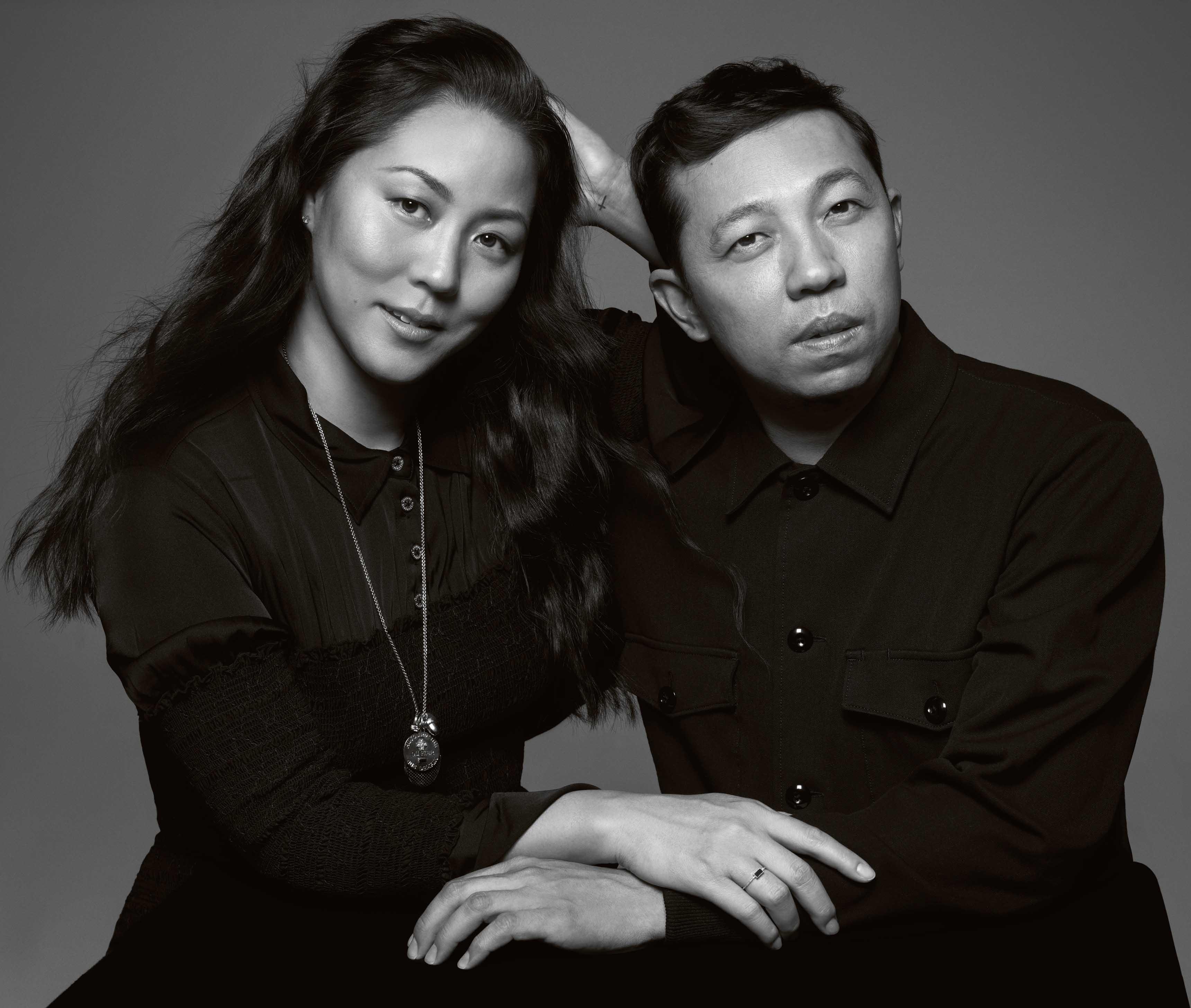 Carol Lim et Humberto Leon. Photo : Inez + Vinoodh.