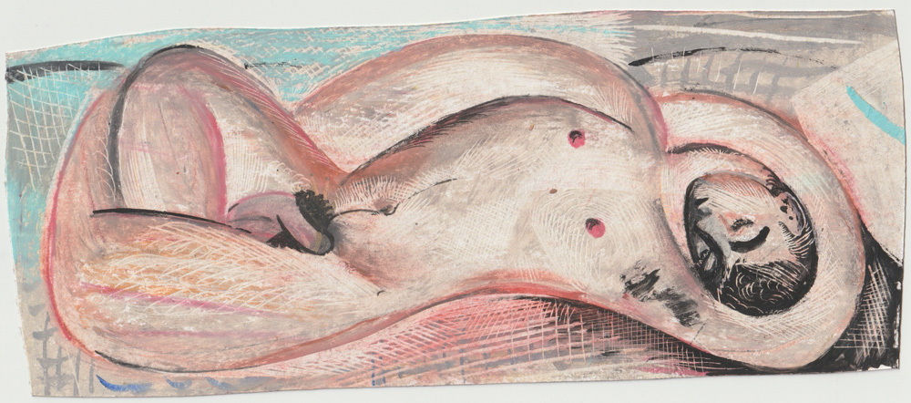 """Infinity Sleep"" de Louis Fratino."