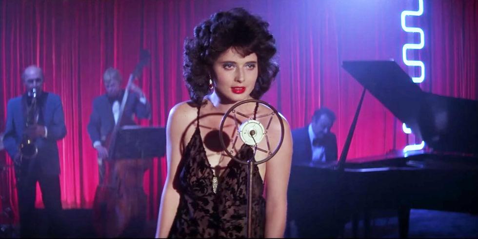 """Isabella Rossellini dans """"Blue Velvet""""."""