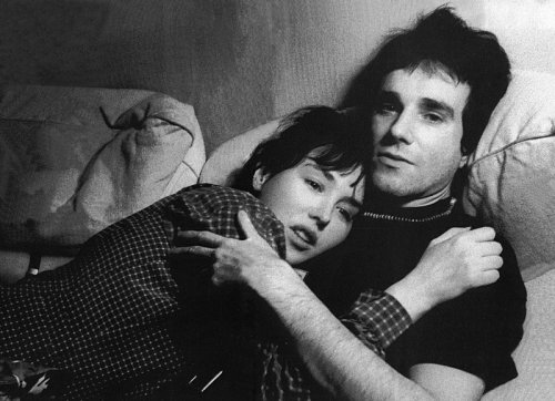 Daniel Day-Lewis and Isabelle Adjani.