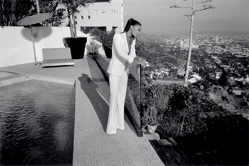 Janet Jackson à Los Angeles en 2007 par Michel Haddi.