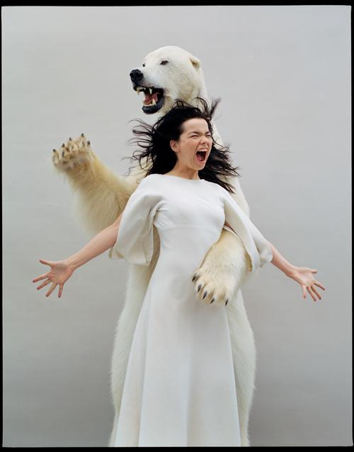 Björk par Jean-Baptiste Mondino, 2005.