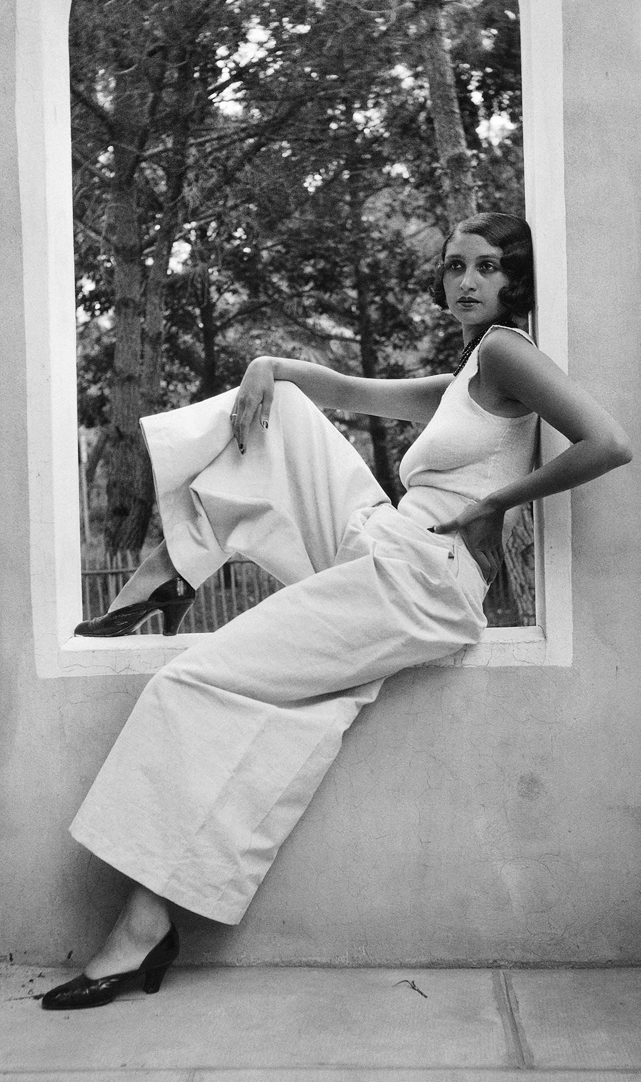 """Jacques-Henri Lartigue, """"Renée Perle"""", 1930 © MUCEM"""
