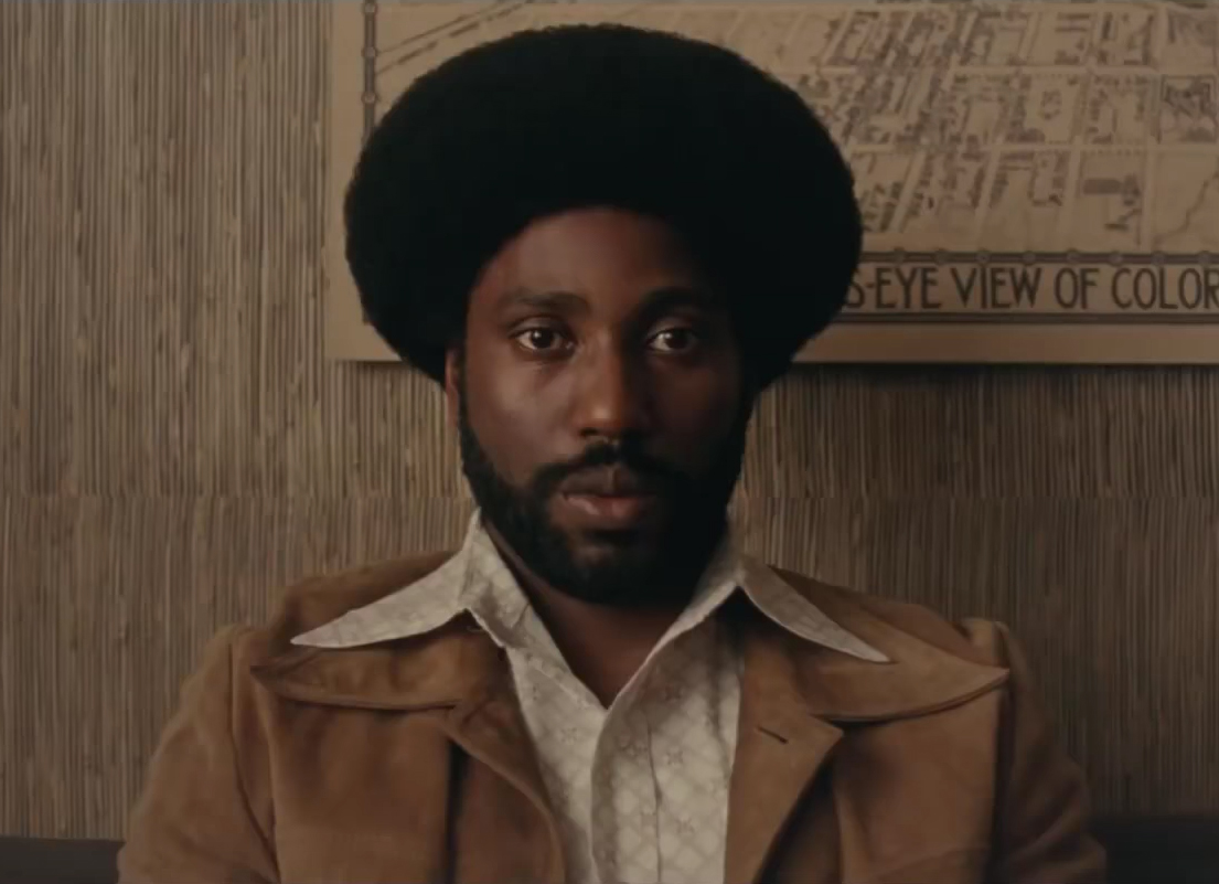 John David Washington dans BlacKkKlansman de Spike Lee