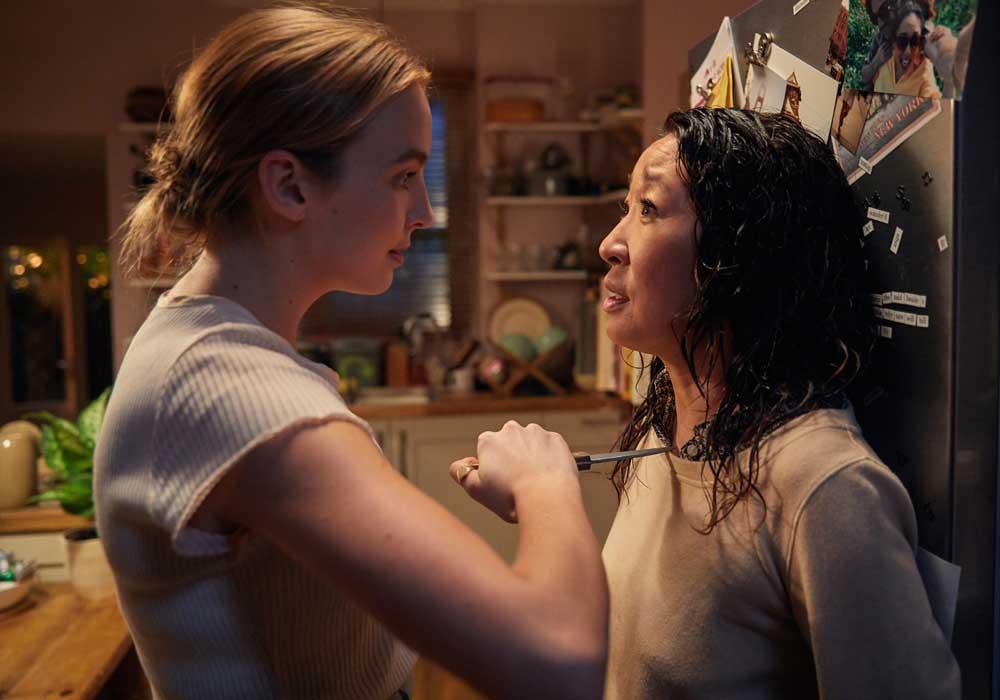 """""""Killing Eve"""", série de Phoebe Waller-Bridge. Sur BBC America."""
