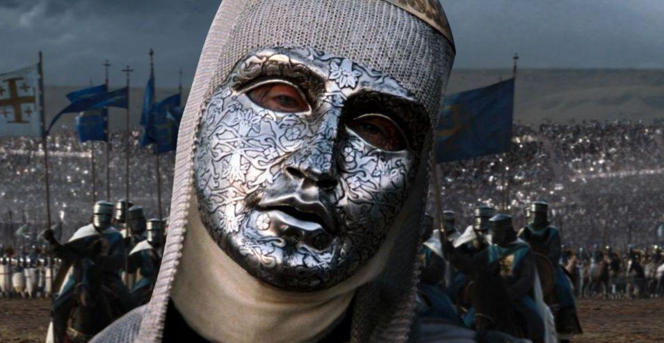 """Edward Norton dans """"Kingdom of Heaven"""" (2005) de Ridley Scott"""