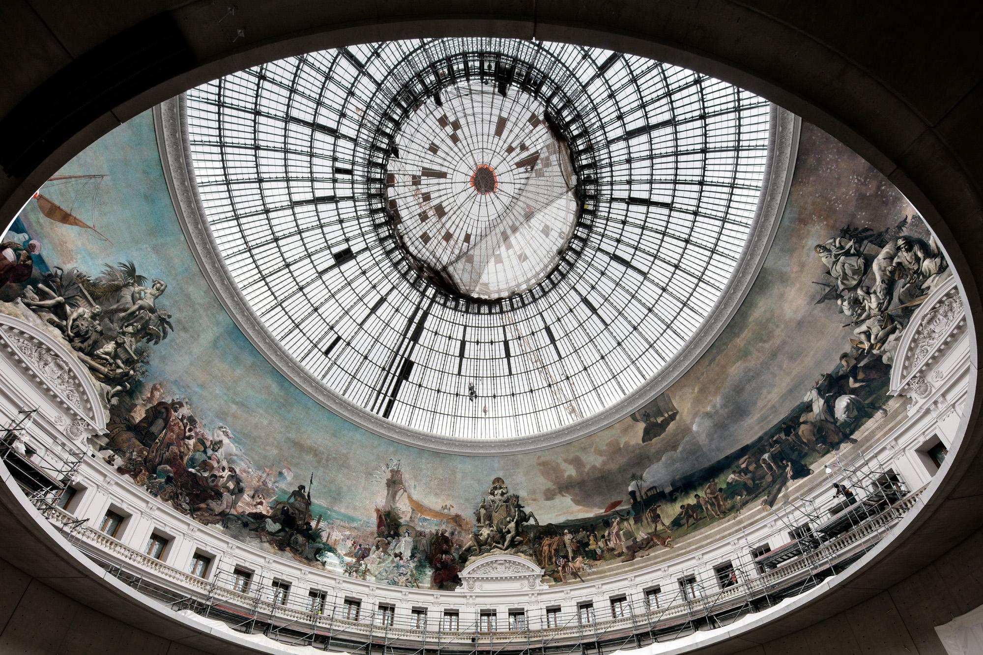 La bourse de commerce de Paris.Collection Pinault, Paris.