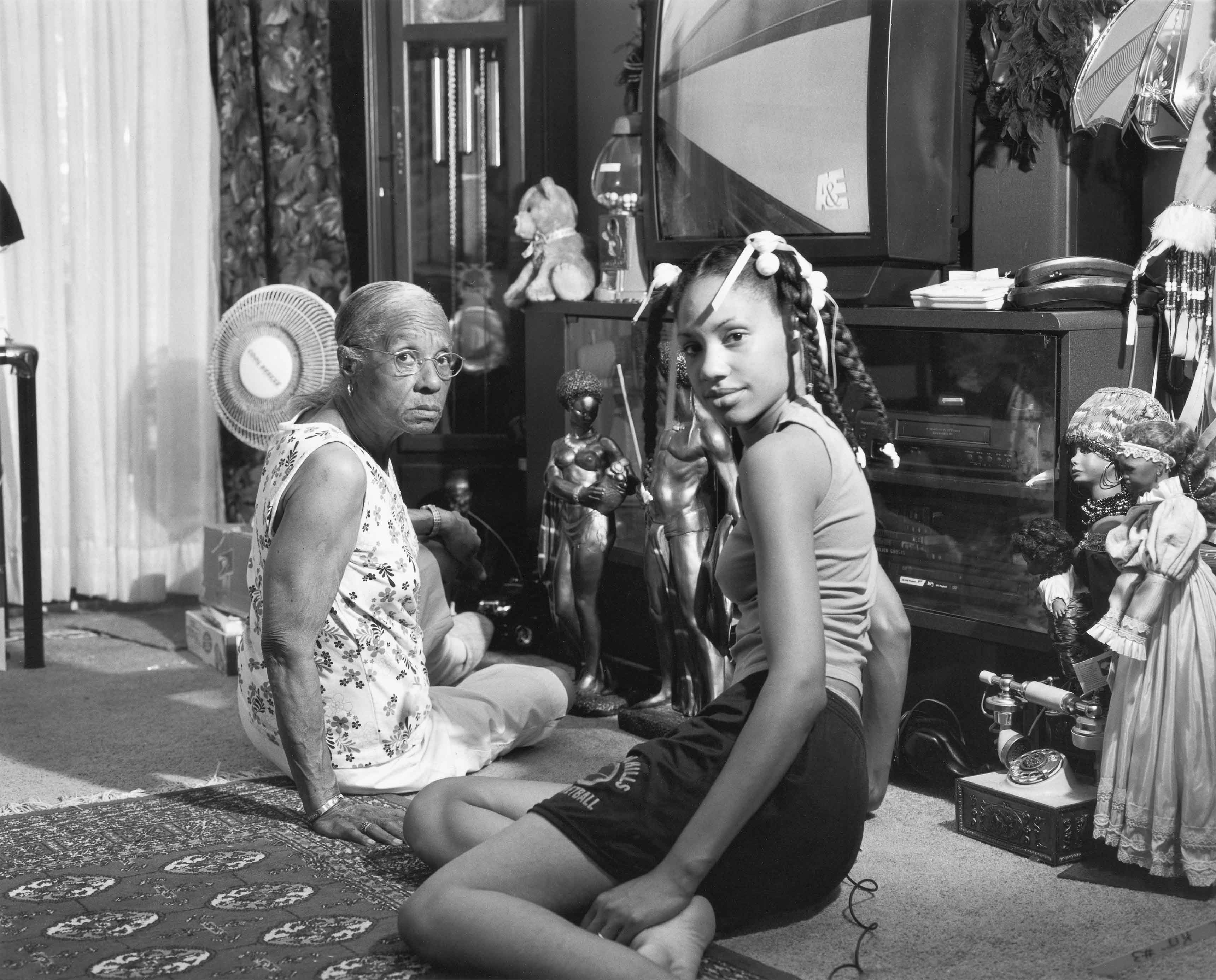 Grandma Ruby and Me, 2005. Latoya Ruby Frazier