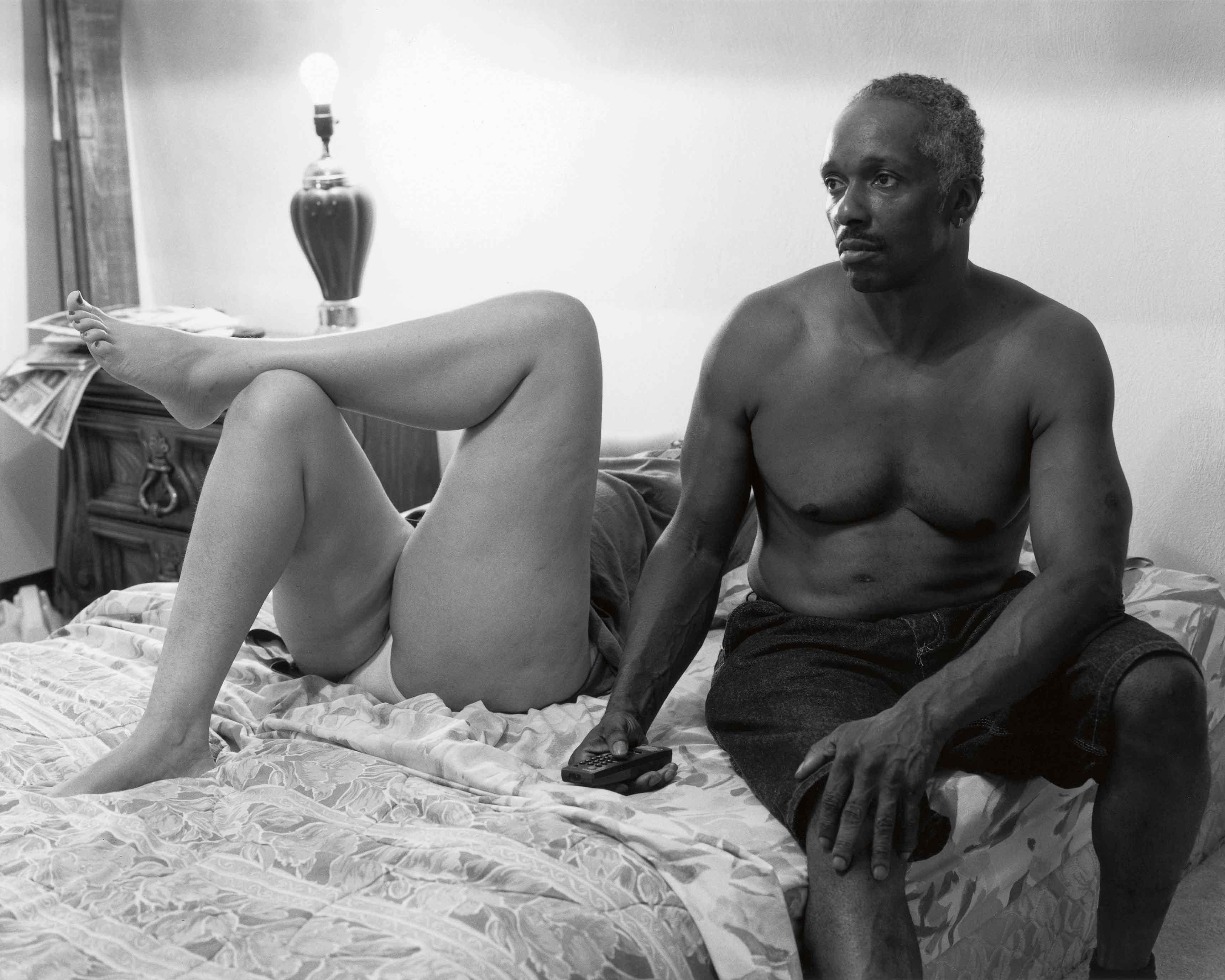 Mom and Her Boyfriend Mr. Art (2005). Tirage Gélatino-Argentique, 50,8 x 61 cm. LaToya Ruby Frazier