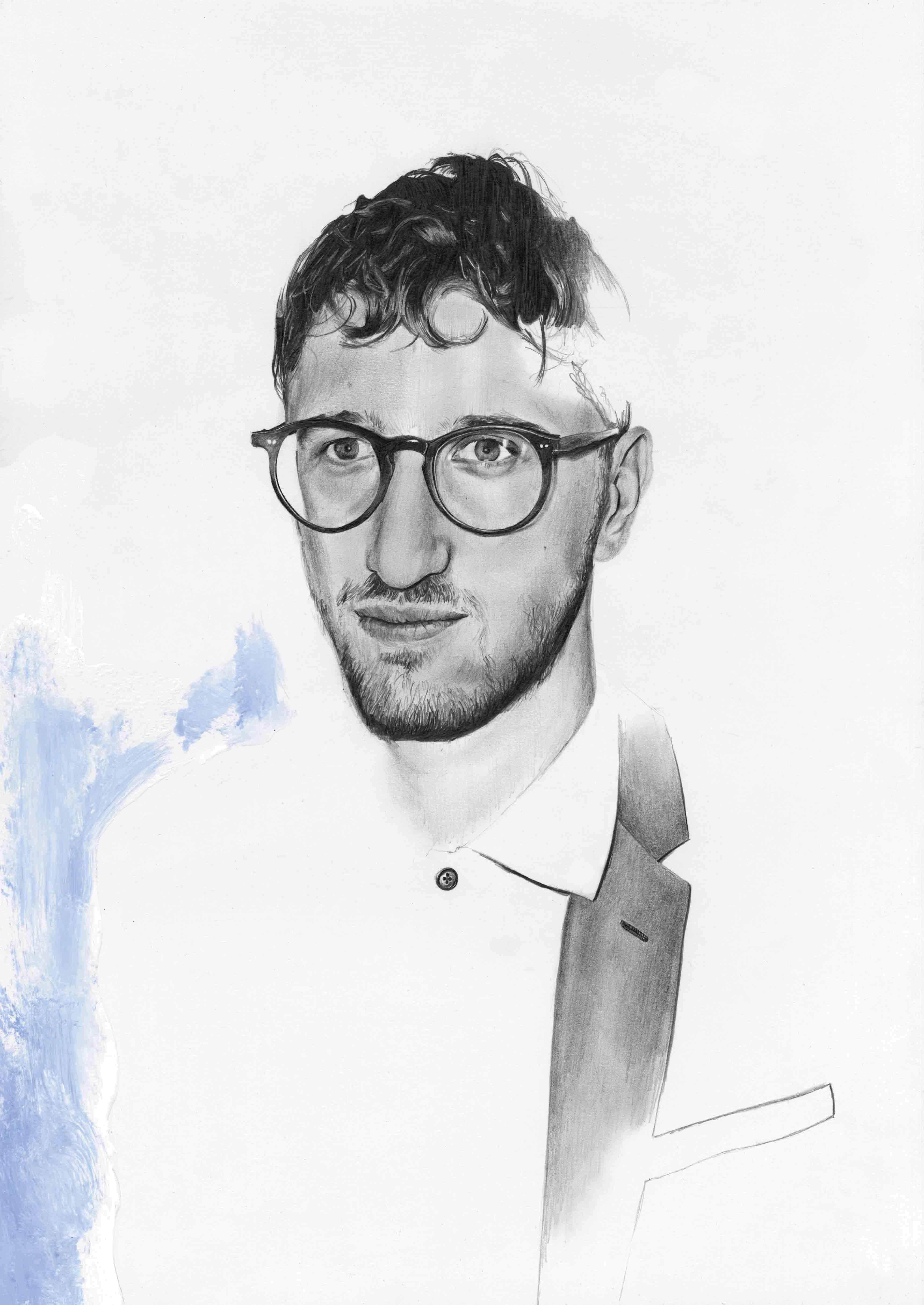 Portrait de Lawrence Abu Hamdan par Richard Kilroy