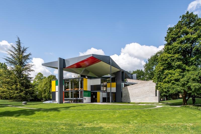 Pavillon Le Corbusier, Zurich, Suisse, 1967. Credits : ZHdK.