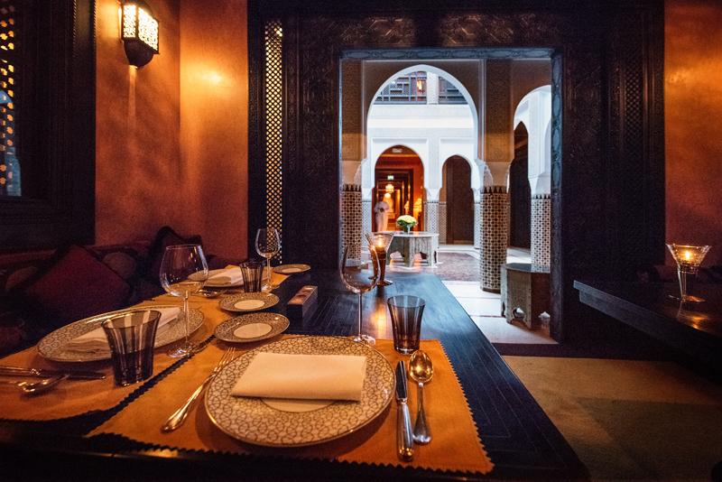Le restaurant Le Marocain