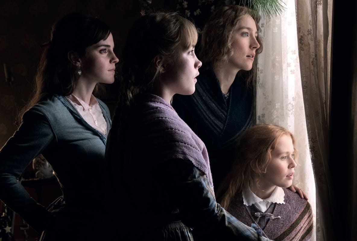 Emma Watson, Florence Pugh, Saoirse Ronan et Eliza Scanlen.