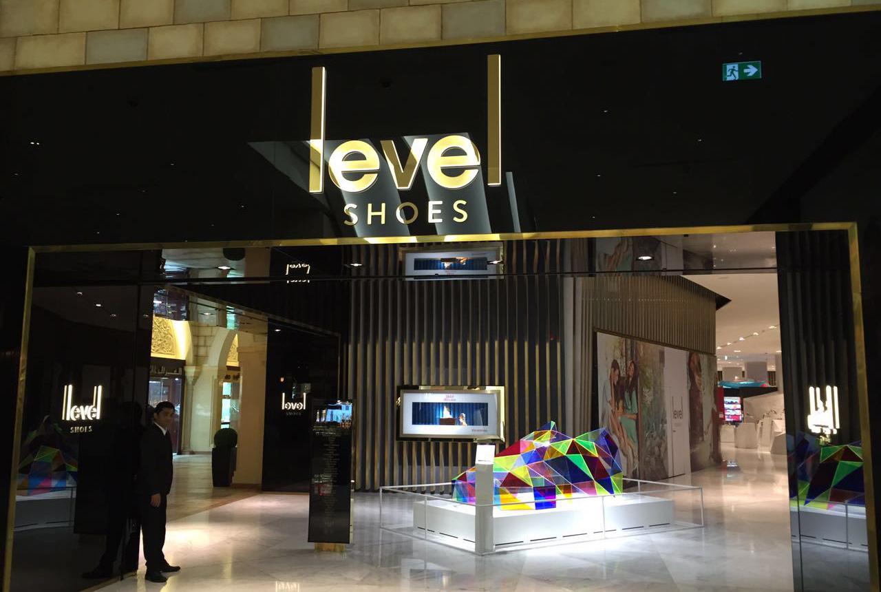 L'enseigne Level au sein du Dubai Mall, à Dubai. Droits réservés.