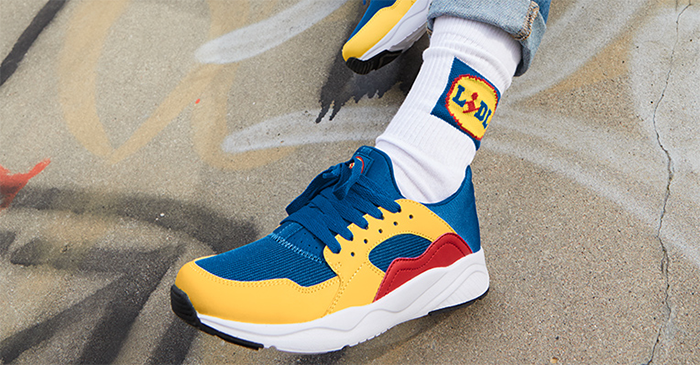 Sneakers Lidl — édition limitée, 2020