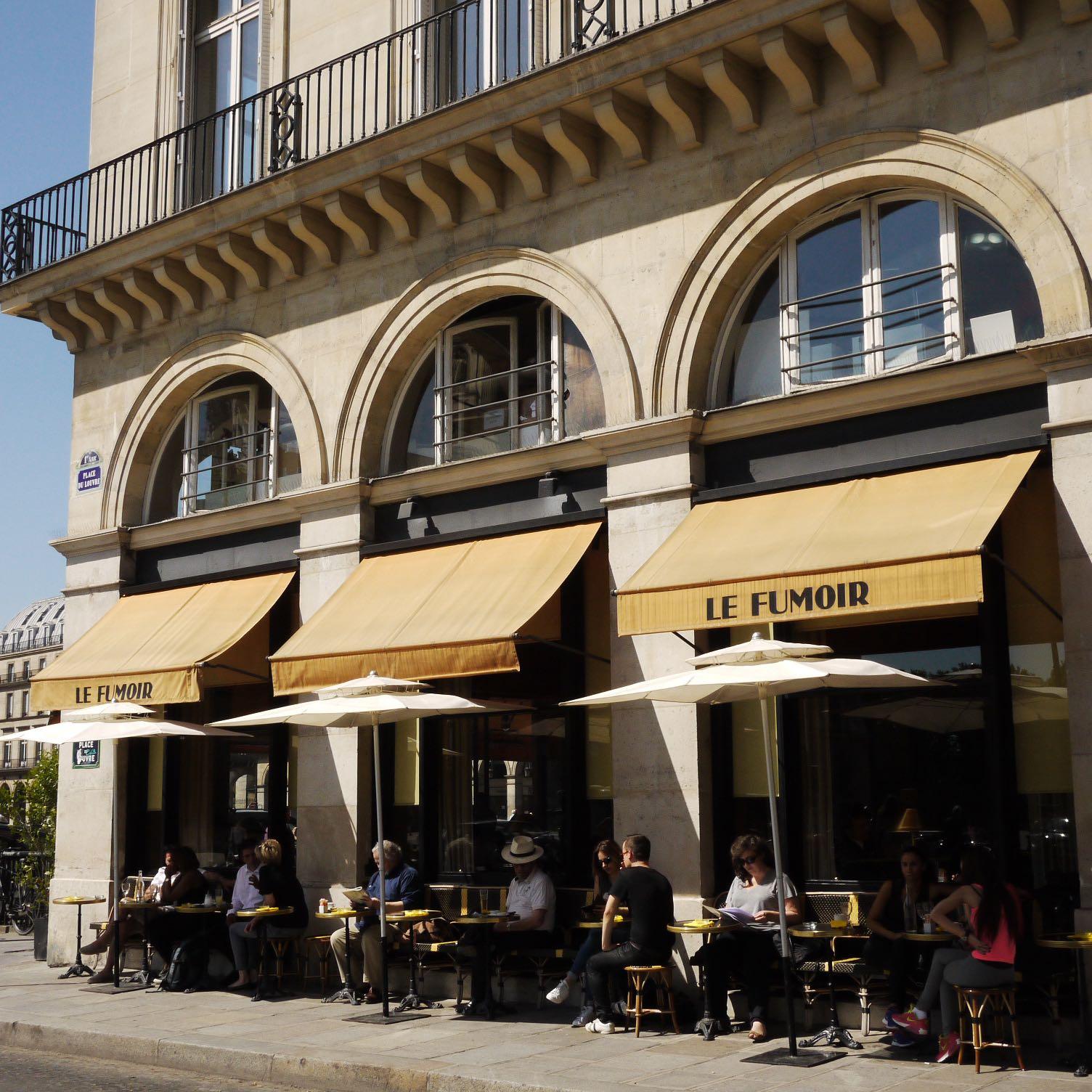 Le Fumoir, 6, rue de l'Amiral-Coligny, Paris Ier.