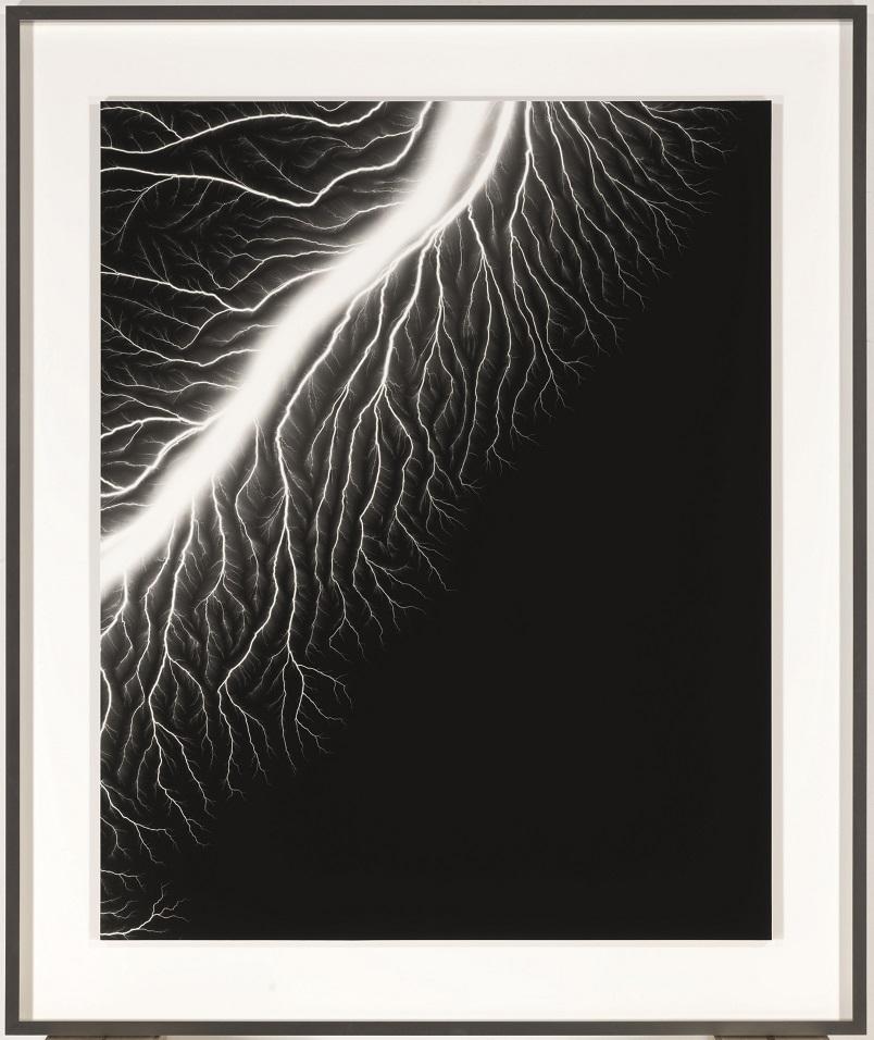 """Lightning Fields"", Hiroshi Sugimoto, 50,000-70,000 euros."