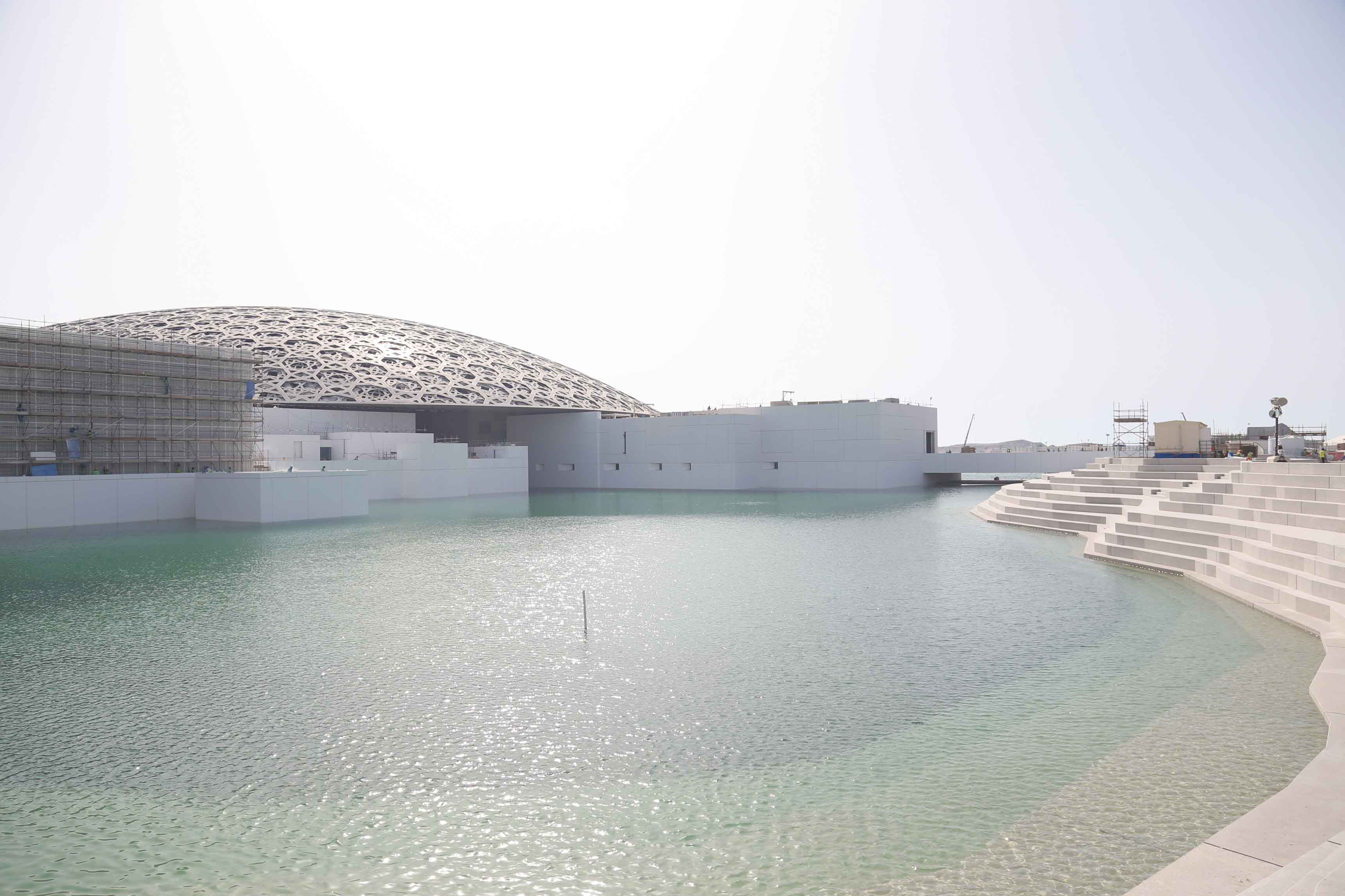Louvre Abu Dhabi - Exterior View © TDIC, Architect Ateliers Jean Nouvel