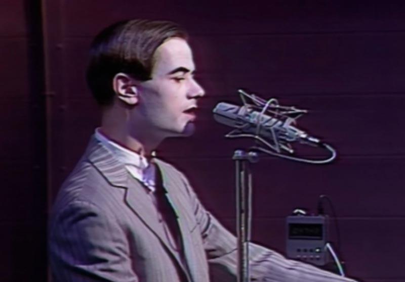 Kraftwerk en concert le 1er Octobre 1978 au Théâtre de l'Empire.