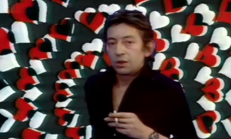 "Serge Gainsbourg dans ""Melody"" de Jean-Christophe Averty"