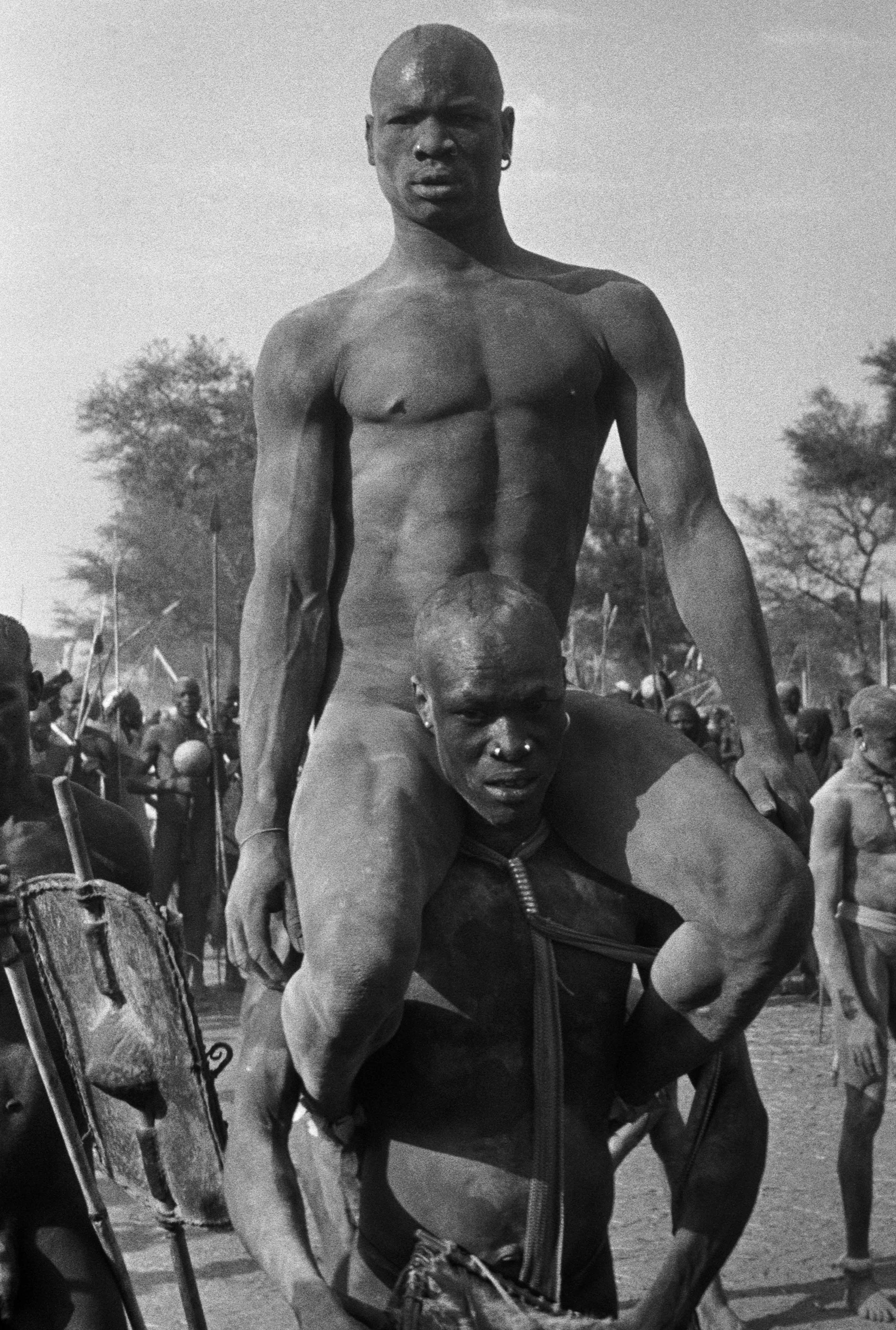 Georges Rodger, SUDAN. Kordofan. The Nubas. 1949, Magnum.