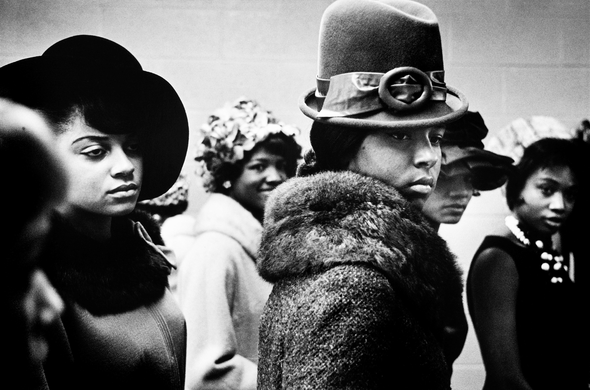 Leonard Freed, Harlem fashion show, 1963 © Leonard Freed/Magnum Photos