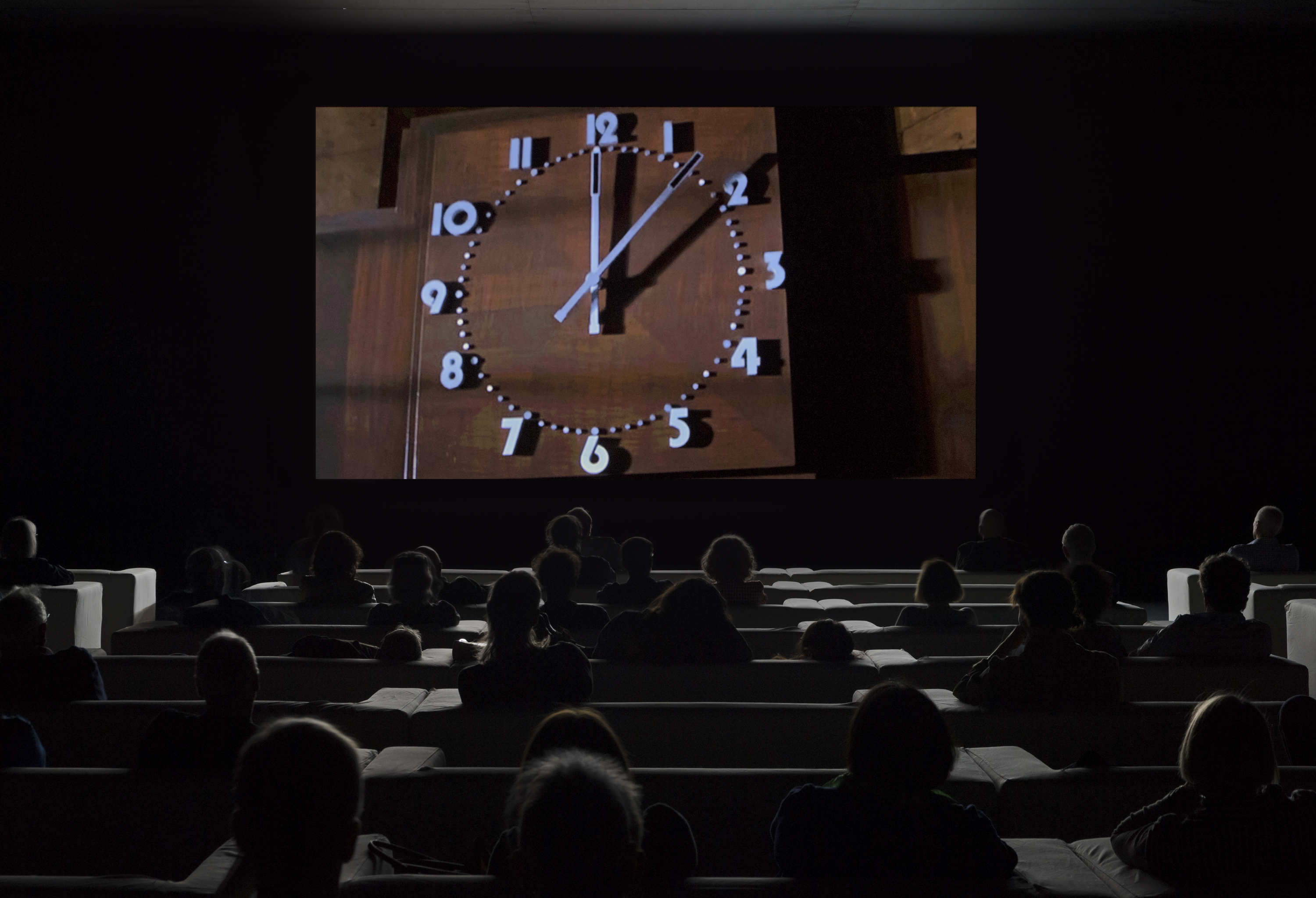 """The Clock"", Christian Marclay, 2010, courtesy White Cube, London and Paula Cooper Gallery, New York."