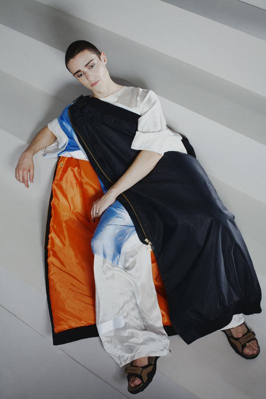 Marianna Ladreyt. Collection Homme, France. Photographie de Louise Desnos, 2017