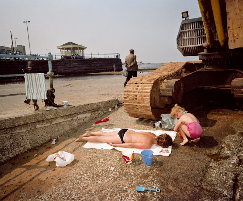 """The Last Resort"", New Brighton, England (1983-1985) © Martin Parr / Magnum Photos"