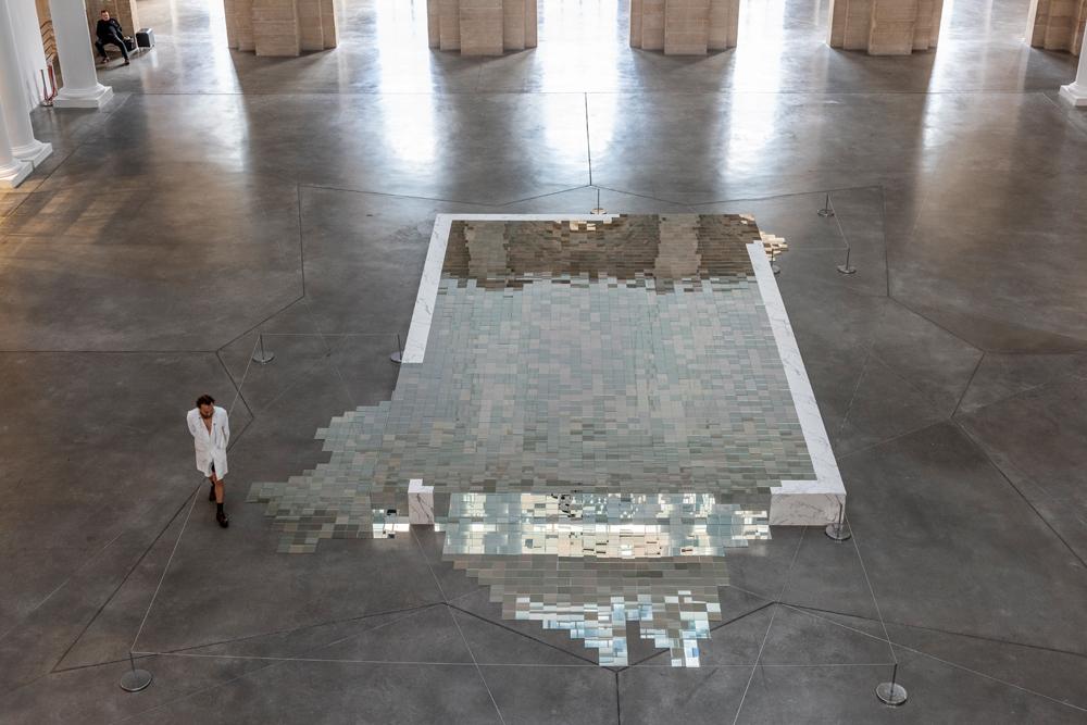 """Besoin d'air"", une installation de Mathias Kiss. Photo : David Zagdoun."