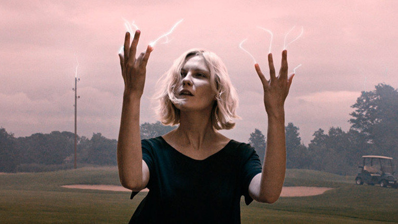 "Kirsten Dunst dans ""Melancholia"" (2011)"