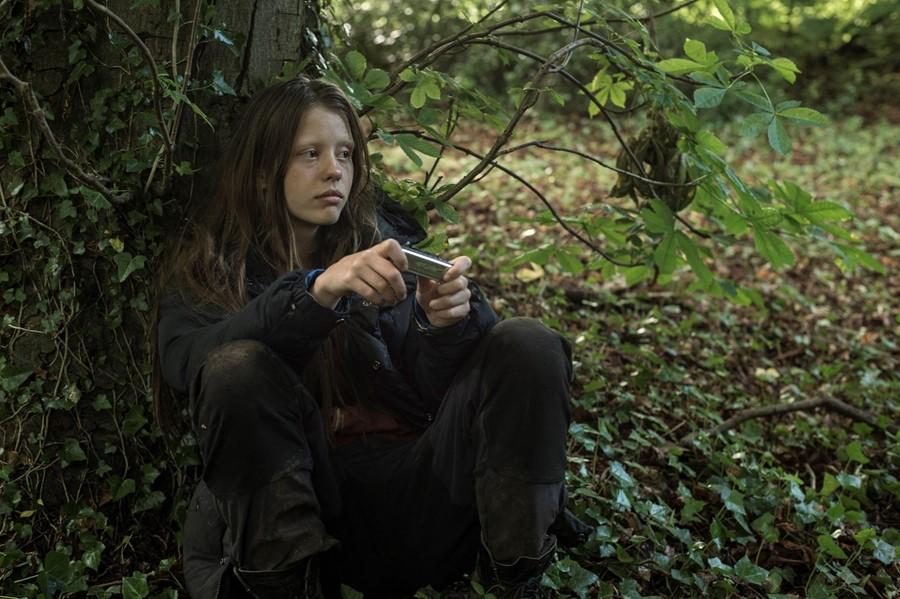 """Mia Goth in """"The Survivalist"""""""