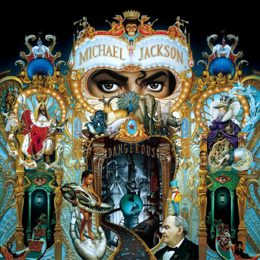 """Pochette de l'album """"Dangerous"""" de Michael Jackson imaginée par l'artiste Mark Ryden"""