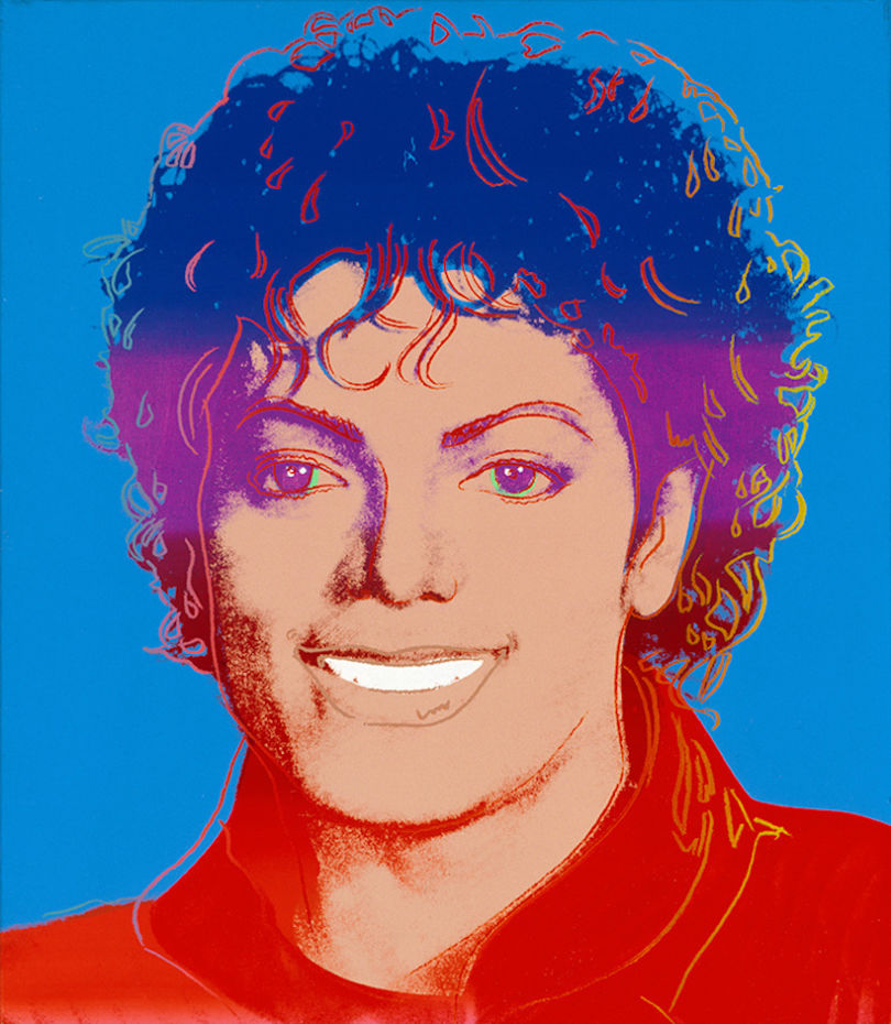 Michael Jackson par Andy Warhol © The Andy Warhol Foundation for the Visual Arts, Inc. / Licensed by ADAGP Paris 2018