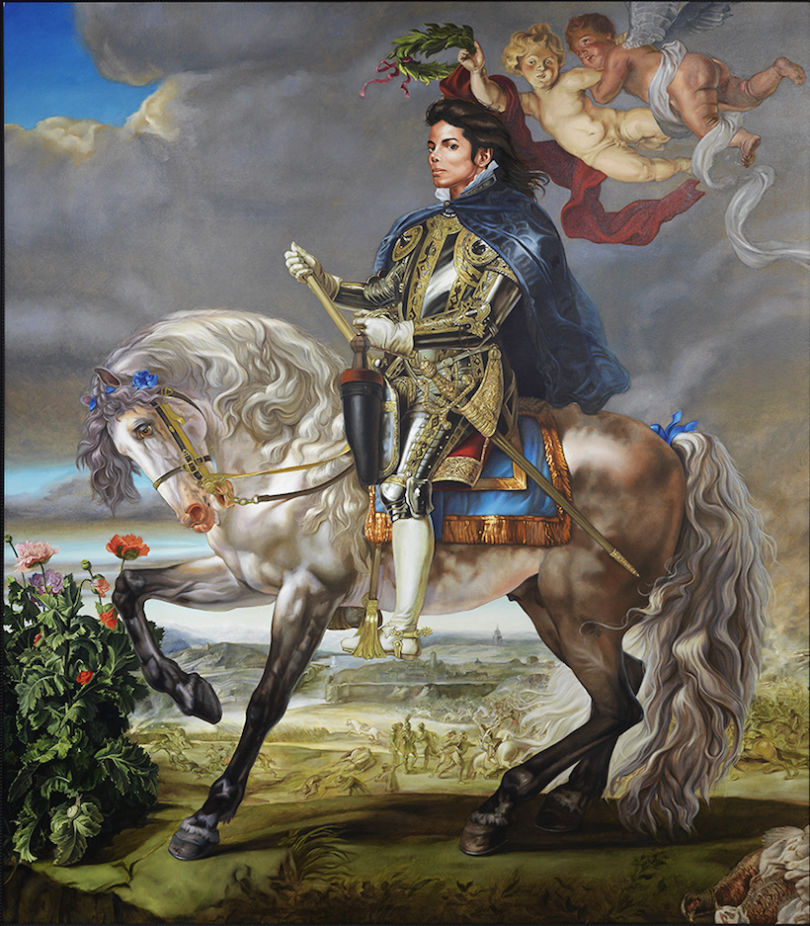 """Equestrian Portrait of King Philip II"" (2009) de Kehinde Wiley © ADAGP Paris 2018"