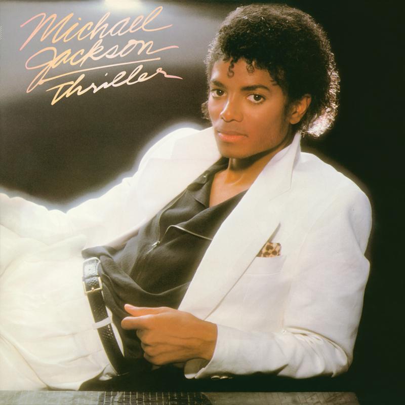 """La cover de l'album """"Thriller"""" de Michael Jackson"""